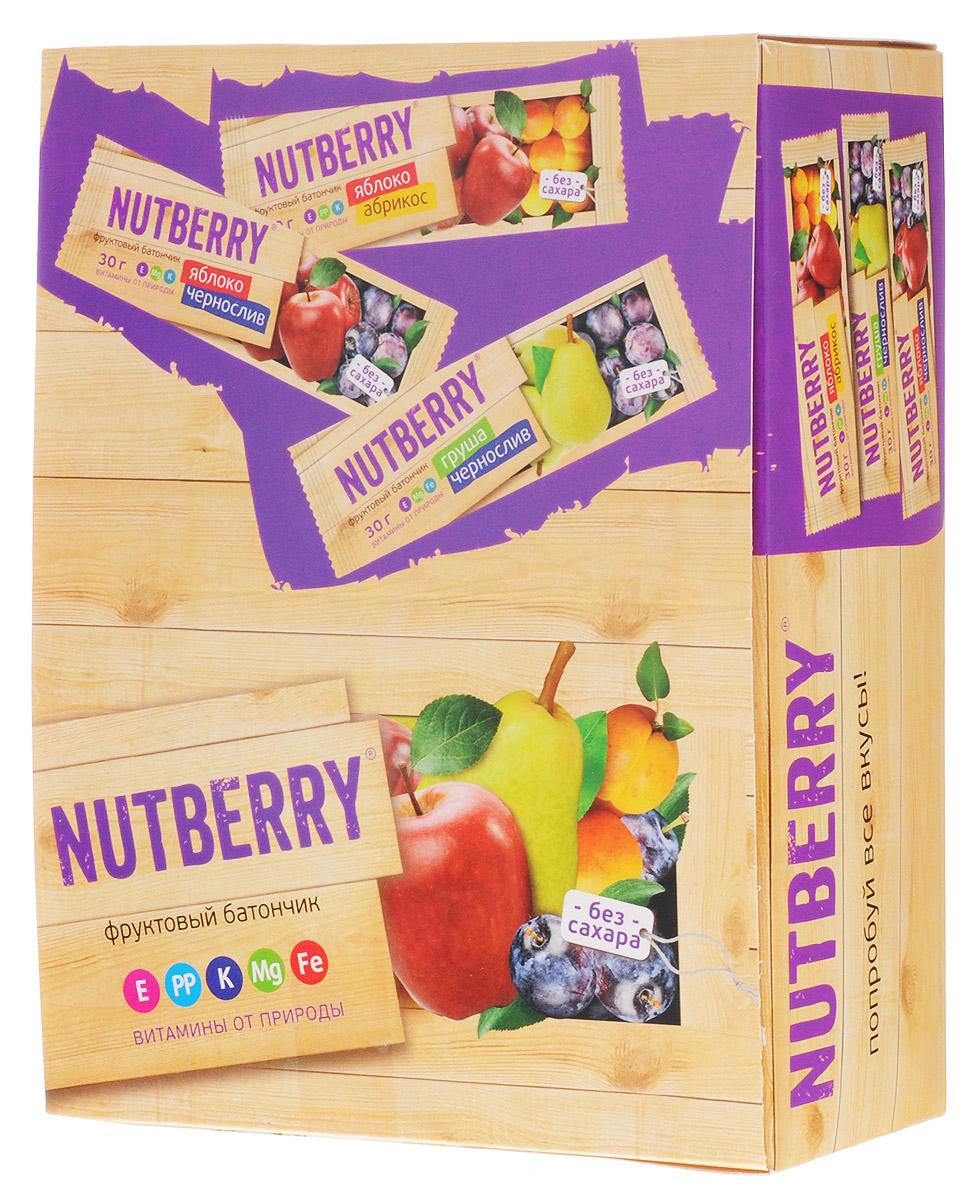 Nutberry Витафрут батончик фруктовый с абрикосом, 30 г (24 шт)4620000678236Фруктовый батончик Nutberry Витафрут Яблоко и Абрикос - полезный и натуральный снек. Медово-сладкий вкус мякоти абрикоса с кислинкой яблока относится к тем вкусам, которые очаровывают любого гурмана. Фруктовые батончики Nutberry – натурально, вкусно, с заботой о вас. Фруктовый батончик Яблоко и Абрикос справится с голодом в два счета. Любой перекус станет и вкусным и полезным. С утренним кофе, с обеденным чаем, со свежевыжатым соком фруктовый батончик Nutberry станет незаменимым составляющим вашего рациона. Фруктовые батончики Nutberry изготавливаются только из натуральных спрессованных фруктов. Производители не используют яблочное пюре или повидло, которые существенно удешевляют продукт и занижают полезные свойства. Батончики Nutberry содержат естественные фруктовые сахара! При производстве в продукт не добавляются фруктоза, сахар и другие сахаросодержащие продукты. Nutberry абсолютно безопасны, не содержат ароматизаторов и красителей.
