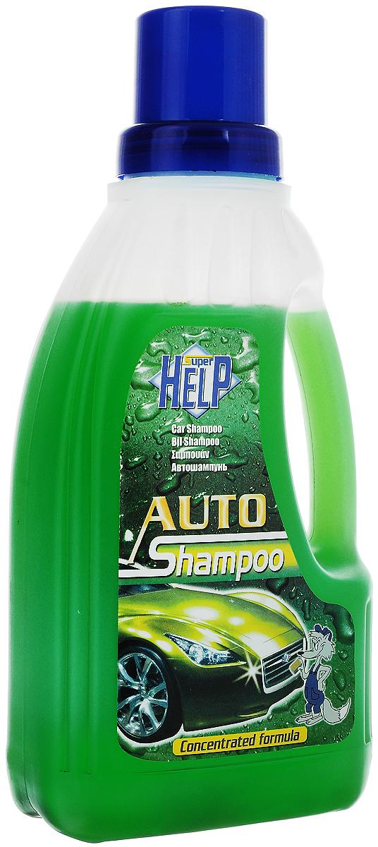 Автошампунь SuperHelp, 1 л200Автошампунь SuperHelp эффективно обезжиривает и очищает поверхность автомобиля. Концентрат: 1 колпачок на 10 литров воды. Товар сертифицирован.