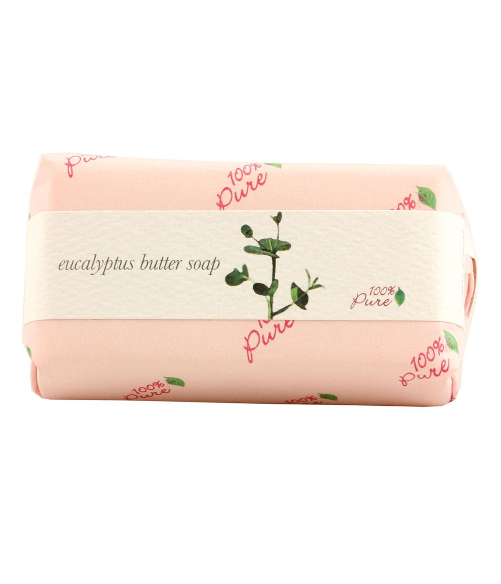 100% Pure Крем-мыло Эвкалипт, 127 г1BSOEЭто натуральное растительное мыло создано на основе масла Ши и кокосового масла, которые, как известно, увлажняют и защищают кожу. Обильная , нежная пена дарит бесконечное удовольствие при принятии ванны.