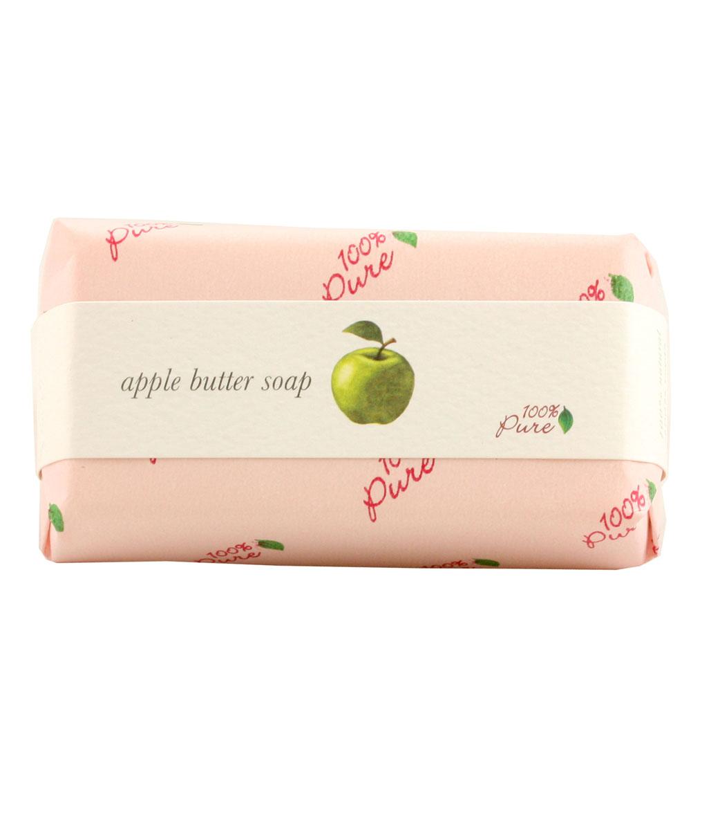 100% Pure Крем-мыло Яблоко, 127 г1BSOAЭто натуральное растительное мыло создано на основе масла Ши и кокосового масла, которые, как известно, увлажняют и защищают кожу. Обильная , нежная пена дарит бесконечное удовольствие при принятии ванны.
