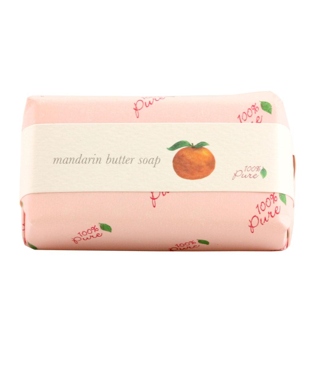 100% Pure Крем-мыло Мандарин, 127 г1BSOMANЭто натуральное растительное мыло создано на основе масла Ши и кокосового масла, которые, как известно, увлажняют и защищают кожу. Обильная , нежная пена дарит бесконечное удовольствие при принятии ванны.