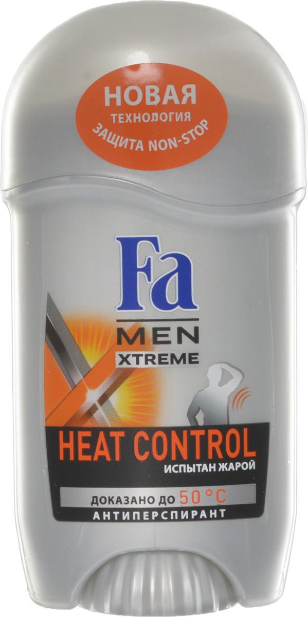 FA MEN Xtreme Део-Стик Heat Control, 50 мл1212655810FA MEN антиперспирант Xtreme Heat Control. При повышении температуры усовершенствованная формула усиливает уровень защиты для экстремального контроля над потом в любой ситуации. Инновационная технология Sweat Detect борется с потом еще до его появления. Клинические испытания доказали эффективную защиту против пота и запаха, даже в экстремально жарких условиях. Протестирован при t до 50°C. Также почувствуйте притягательную свежесть, принимая душ с гелем для душа Fa Men Xtreme.