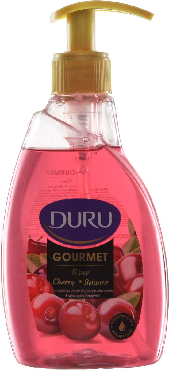 Duru GOURMET Мыло жидкое Вишневый пирог 300мл8002979022Современное средство гигиены и ухода за кожей с увлажняющим действием глицерина. Отличается приятным фруктовым ароматом и нежной текстурой.