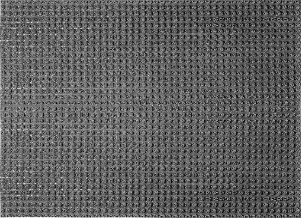 Коврик Травка, на противоскользящей основе, 45х60 см, цвет: серый24103