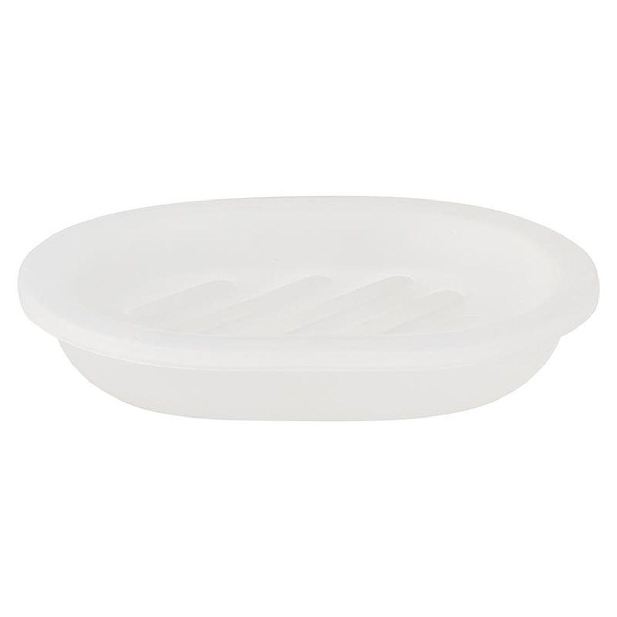 Мыльница Vanstore Summer White, 12 х 8 х 3 см377-04Оригинальная мыльница Vanstore Summer White, изготовленная из пластика, отлично подойдет для вашей ванной комнаты. Изделие отлично сочетается с другими аксессуарами из коллекции Summer White. Такая мыльница создаст особую атмосферу уюта и максимального комфорта в ванной.