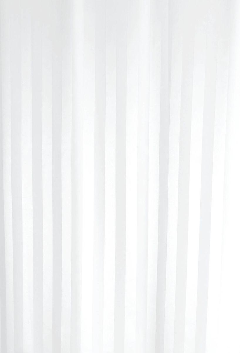 Штора для ванной комнаты Vanstore Zober, цвет: белый, 180 х 180 см660-10Штора для ванной комнаты Vanstore Zober, изготовленная из высококачественного полиэстера, приятна на ощупь, устойчива к разрывам и проколам и не пропускает воду. Снабжена утяжеляющей полоской, не позволяющей занавеске мяться. Она надежно защитит от брызг и капель пространство вашей ванной комнаты в то время, пока вы принимаете душ, а привлекательный дизайн шторы наполнит вашу ванную комнату положительной энергией.