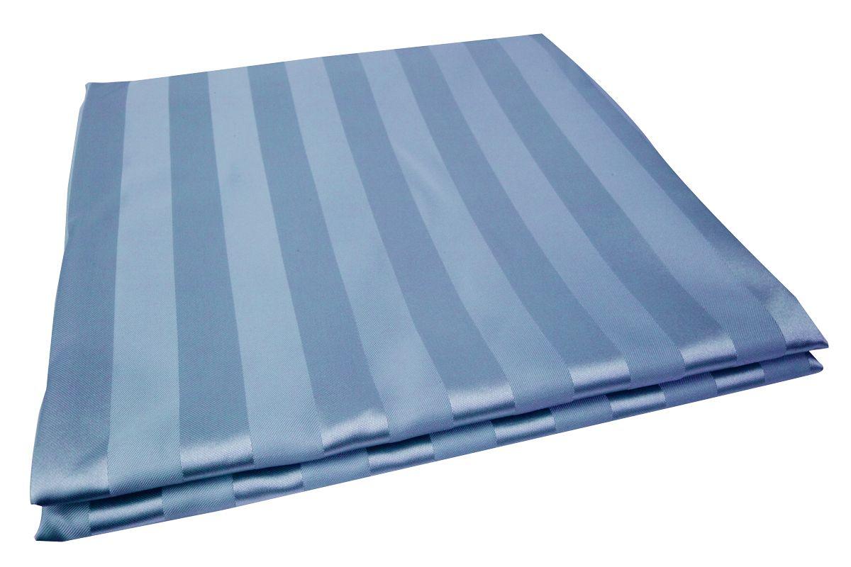 Штора для ванной комнаты Vanstore Zober, цвет: голубой, 180 х 180 см660-35Занавеска Zober голубая 100% полиэстр. Размер 180х180 см. Водонепроницаема. Снабжена утяжеляющей полоской, не позволяющей занавеске мяться. Плотность: 100 gsm