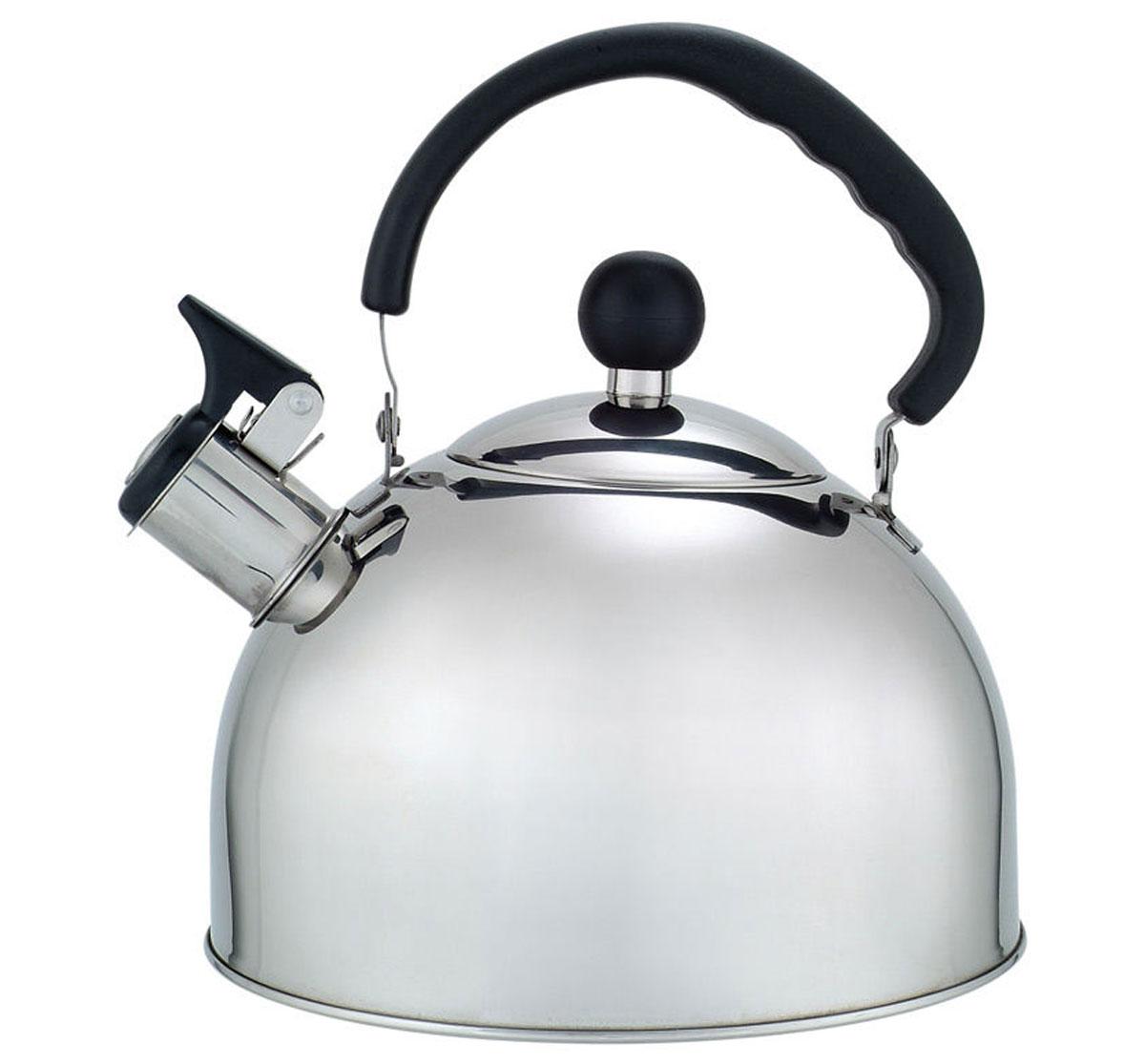 Чайник газовый Добрыня, 2,5 лDO-2907Чайник Добрыня окажется незаменимым помощником в приготовлении чая. Высококачественные материалы обеспечивают продолжительную и безопасную эксплуатацию изделия. Кроме оригинального дизайнерского решения, комбинация высококачественного металла и свистка с внешней поверхностью из бакелита, не позволяет обжечься о раскаленный носик чайника при открытии клапана, для того, чтобы набрать воду или разлить кипяток по чашкам.