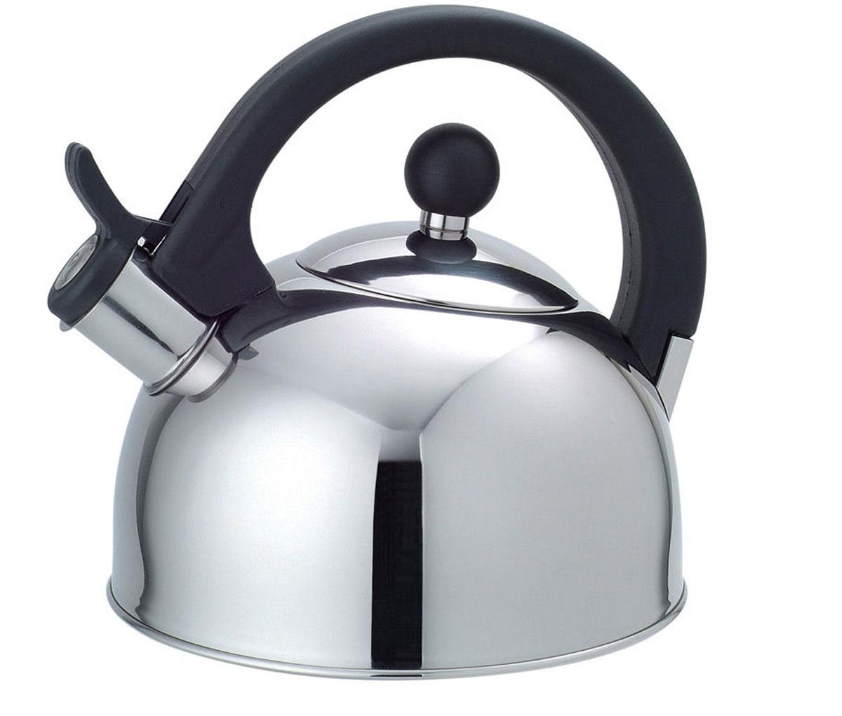 Чайник газовый Добрыня, 2,5 лDO-2903Чайник Добрыня окажется незаменимым помощником в приготовлении чая. Высококачественные материалы обеспечивают продолжительную и безопасную эксплуатацию изделия. Кроме оригинального дизайнерского решения, комбинация высококачественного металла и свистка с внешней поверхностью из бакелита, не позволяет обжечься о раскаленный носик чайника при открытии клапана, для того, чтобы набрать воду или разлить кипяток по чашкам.