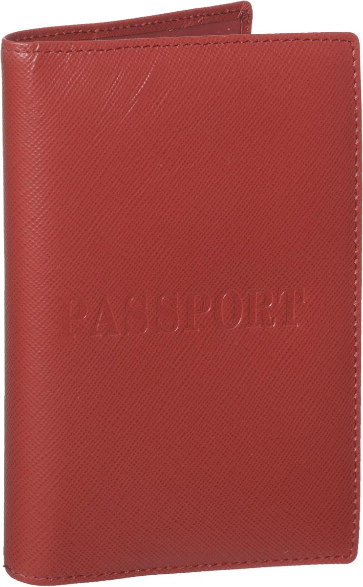 Обложка для паспорта женская Piero, цвет: красный. 42М6_90044_50_1402П_2242М6_90044_50_1402П_22Стильная и элегантная обложка для паспорта Piero выполнена из натуральной кожи с тиснением Passport. Внутри расположены два прозрачных клапана, с помощью которых документ надежно зафиксируется. Обложка не только сохранит внешний вид документов, но и станет стильным аксессуаром, который подчеркнет ваш образ. Изделие упаковано в фирменную коробку с логотипом бренда. Такой функциональный аксессуар станет замечательным подарком человеку, ценящему качественные и модные вещи.