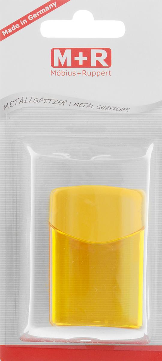 M+R Точилка Quattro Swing с контейнером цвет желтый0923-0052_желтыйТочилка M+R Quattro Swing в пластиковом корпусе прямоугольной формы предназначена для затачивания карандашей. Точилка имеет одно отверстие для карандашей. Острое лезвие обеспечивает высококачественную и точную заточку. Карандаш затачивается легко и аккуратно, а опилки после заточки остаются в специальном полупрозрачном контейнере.