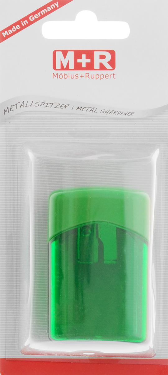 M+R Точилка Quattro Swing с контейнером цвет зеленый0923-0052_зеленыйТочилка M+R Quattro Swing в пластиковом корпусе прямоугольной формы предназначена для затачивания карандашей. Точилка имеет одно отверстие для карандашей. Острое лезвие обеспечивает высококачественную и точную заточку. Карандаш затачивается легко и аккуратно, а опилки после заточки остаются в специальном полупрозрачном контейнере.