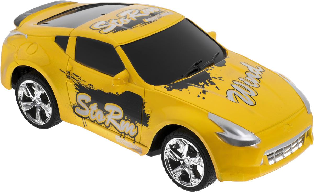 Plastic Toy Машина на радиоуправлении Flash Racing цвет желтыйB1343330_желтыйМашина на радиоуправлении Plastic Toy Flash Racing изготовлена из пластика с металлическими элементами. Колеса игрушки прорезинены и обеспечивают плавный ход, машинка не портит напольное покрытие. Юные гонщики оценят эту машину за прекрасные технические характеристики и свободу передвижений. Моделью легко управлять и любая гонка принесет удовольствие. Управление машинкой происходит с помощью удобного пульта. Автомобиль двигается вперед и назад, поворачивает направо и налево. Радиоуправляемые игрушки способствуют развитию координации движений, моторики и ловкости. Ваш ребенок часами будет играть с моделью, придумывая различные истории и устраивая соревнования. Машина работает от 3 батареек напряжением 1,5V типа АА (не входят в комплект). Для работы пульта управления необходимы 2 батарейки напряжением 1,5V типа AA (не входит в комплект).