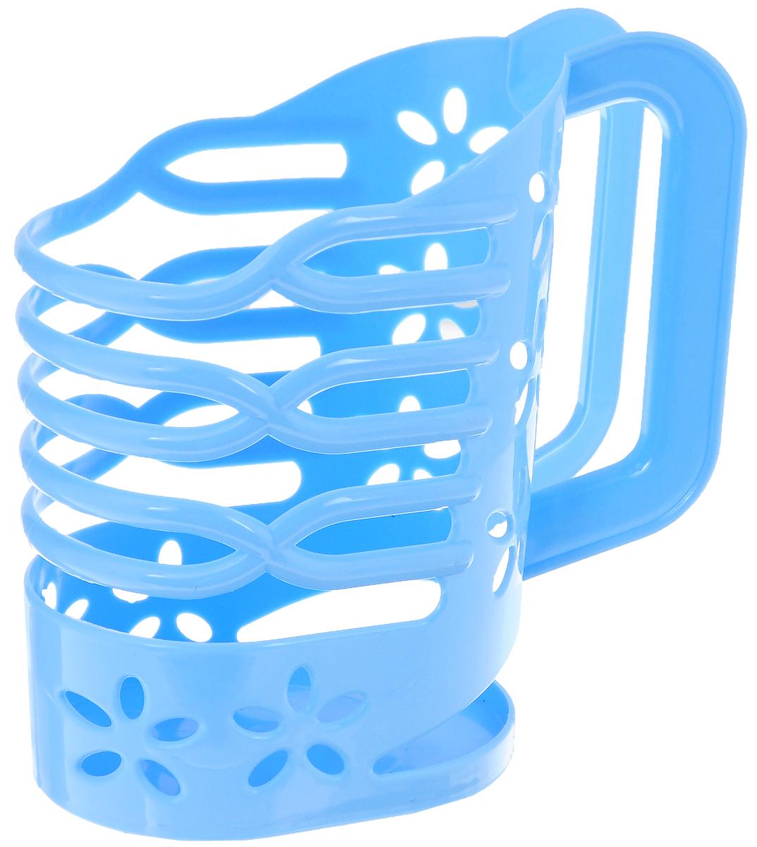 Держатель для молока Альтернатива, цвет: голубой, 1 лM1667_голубойДержатель для молока Альтернатива изготовлен из высококачественного прочного пластика. Изделие предназначено для хранения пакета с молоком, кефиром и другими напитками. Держатель способен подстраиваться под размер пакета и снабжен удобной ручкой. Держатель для молока Альтернатива станет незаменимым аксессуаром на любой современной кухне. Предназначен для молочных пакетов объемом: 1 л.