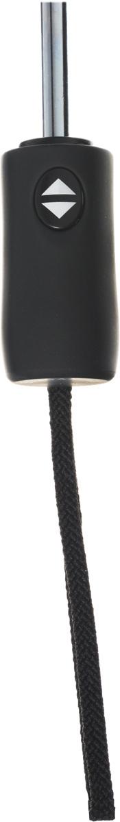Зонт женский Eleganzza, автомат, 3 сложения, цвет: черный. A3-05-0279LS