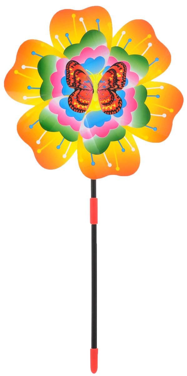Zilmer Вертушка Ветрячок цвет оранжевый зеленый розовыйZIL1810-020Вертушки - популярное летнее развлечение на свежем воздухе. Вертушка Zilmer Ветрячок имеет яркий привлекательный дизайн, разноцветные лепесточки крутятся даже от малейшего ветерка. Игрушка прекрасно подойдет и девочкам, и мальчикам, подарит отличное настроение и сделает день еще насыщеннее и веселее.
