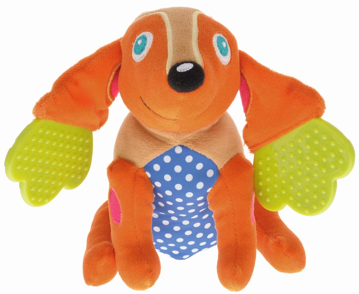 Oops Развивающая игрушка-прорезыватель Собака Хэппи