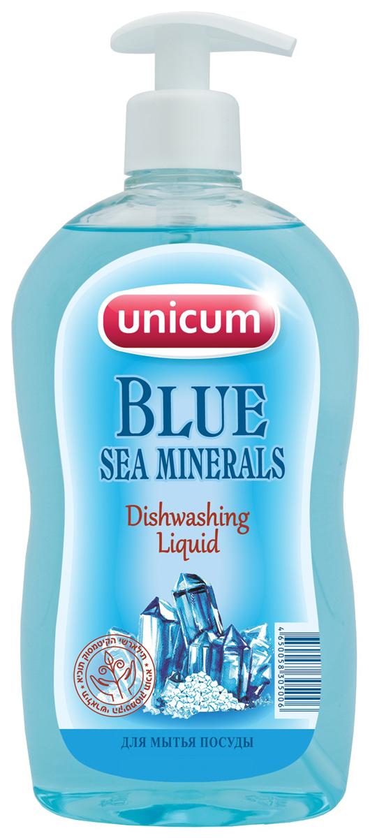 Средство для мытья посуды Unicum Морские минералы, 550 мл305006Высококонцентрированное современное средство с эффектом устранения стойких и неприятных запахов для ручного мытья всех видов посуды и изделий из водостойких материалов. Мгновеенно удаляет остатки жиров соусов, кремов, присохших частиц пищи. Полностью смывается со всех видов посуды даже холодной и жесткой водой, ухаживает за кожей рук.