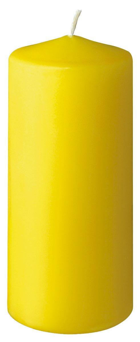 Свеча Duni на 30 часов горения, 13х6 см, цвет: желтый104768Еда – одна из важнейших частей нашей жизни. Еда объединяет разных людей. Впечатляющая сервировка стола вдохновит любое застолье и превратит его в запоминающийся момент, которой захочется повторить. Duni – создатели атмосферы вдохновения, сюрпризов и прздников для вас и ваших детей! Используя современные инновации, высококачественные материалы, оригинальный дизайн, свечи делают вашу трапезу незабываемым и волшебным праздником.