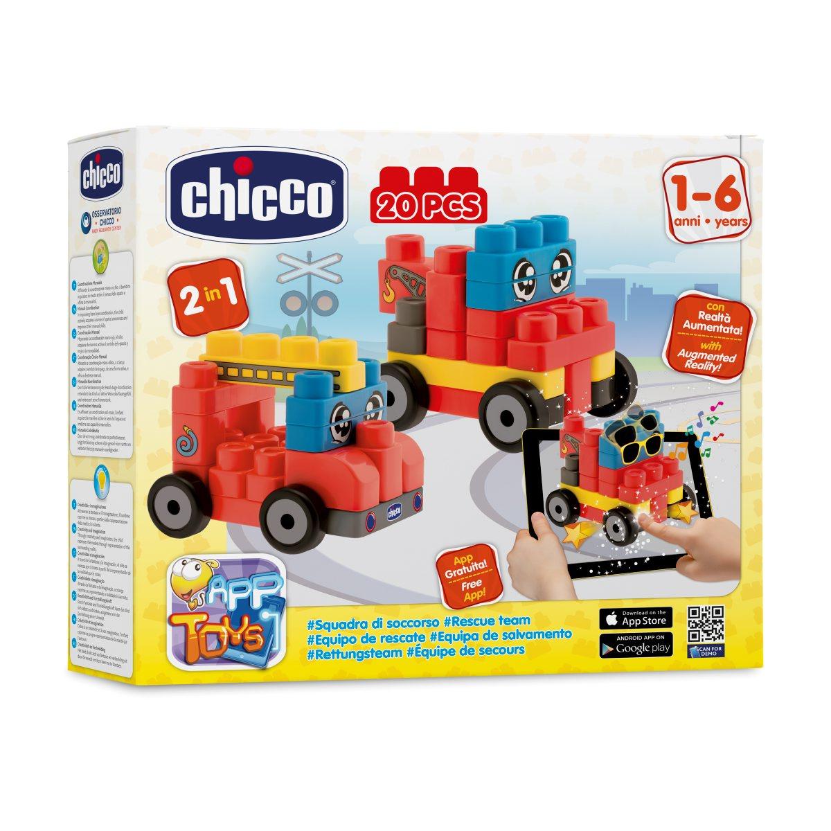 Chicco Набор строительных блоков Машины00002307000000