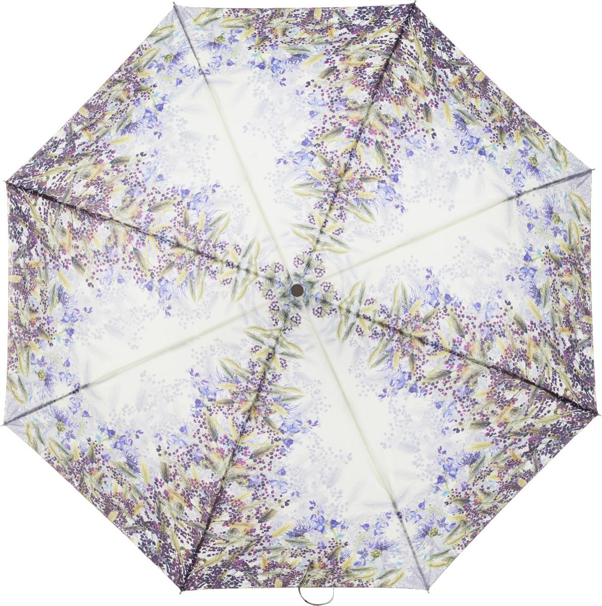 Зонт женский Eleganzza, автомат, 3 сложения, цвет: салатовый. A3-05-0302LSA3-05-0302LSЖенский зонт-автомат торговой марки ELEGANZZA с каркасом Smart, который позволяет без особых усилий складывать зонт, не позволяя стержню вылетать обратно. Купол: 100% полиэстер, эпонж. Материал каркаса: сталь + алюминий + фибергласс. Материал ручки: пластик. Длина изделия - 30 см. Диаметр купола - 105 см. Система Smart, не позволяет стержню при сложении вылететь обратно, это облегчает сложение зонта! При сложении есть характерный звук-треск, как трещетка. Примечание: зонт не откроется с кнопки если его не закрыть до щелчка!