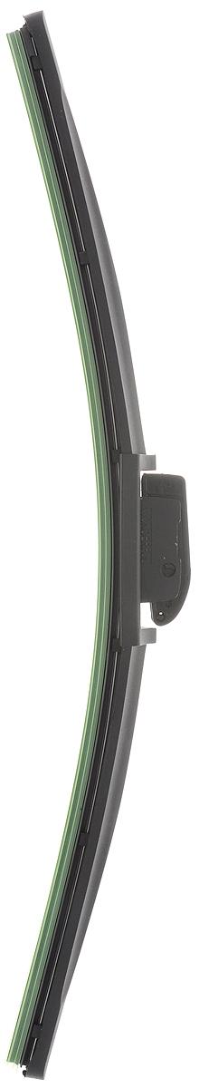 Щетка стеклоочистителя Wonderful, бескаркасная, с тефлоном, с 10 адаптерами, длина 40 см, 1 шт901921Бескаркасная универсальная щетка Wonderful, выполненная по современной технологии из высококачественных материалов, предназначена для установки на переднее стекло автомобиля. Направляющая шина, расположенная внутри чистящего полотна, равномерно распределяет прижимное усилие по всей длине, точно повторяя рельеф щетки, что обеспечивает наиболее полное очищение стекла за один проход. Отличается высоким качеством исполнения и оптимально подходит для замены оригинальных щеток, установленных на конвейере. Обеспечивает качественную очистку стекла в любую погоду. Изделие оснащено 10 адаптерами, которые превосходно подходят для наиболее распространенных типов креплений. Простой и быстрый монтаж.