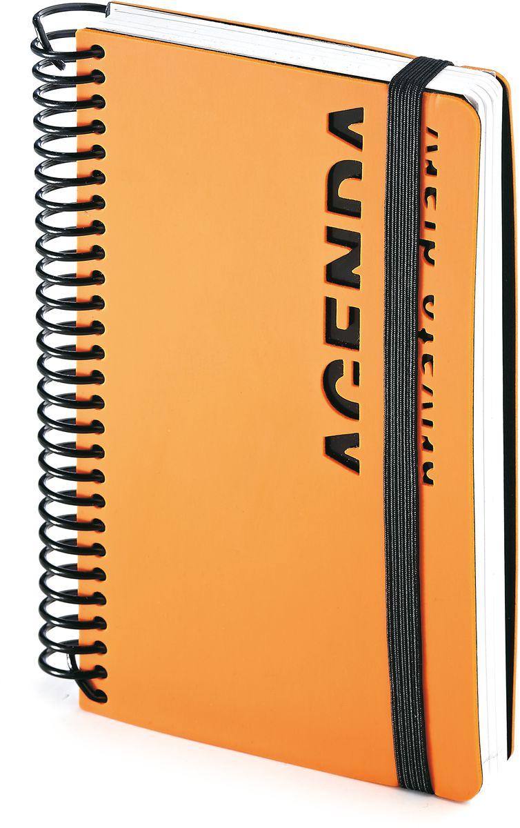 Bruno Visconti Ежедневник А6 AGENDA цвет оранжевый