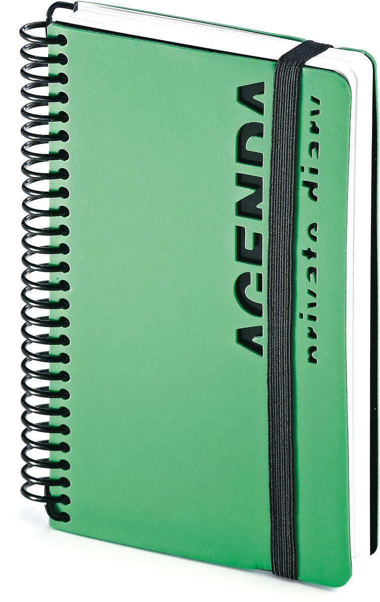 Bruno Visconti Ежедневник Agenda недатированный 136 листов цвет зеленый