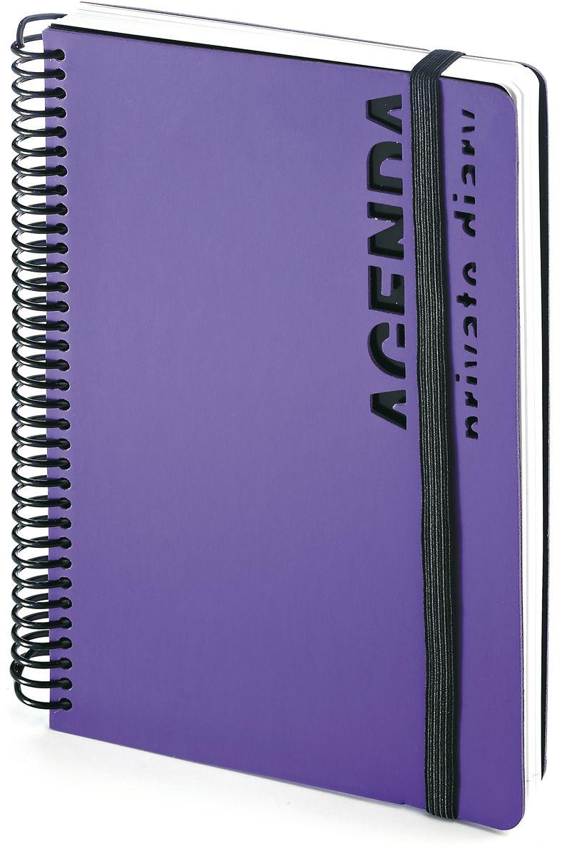 Bruno Visconti Ежедневник А5 AGENDA цвет фиолетовый