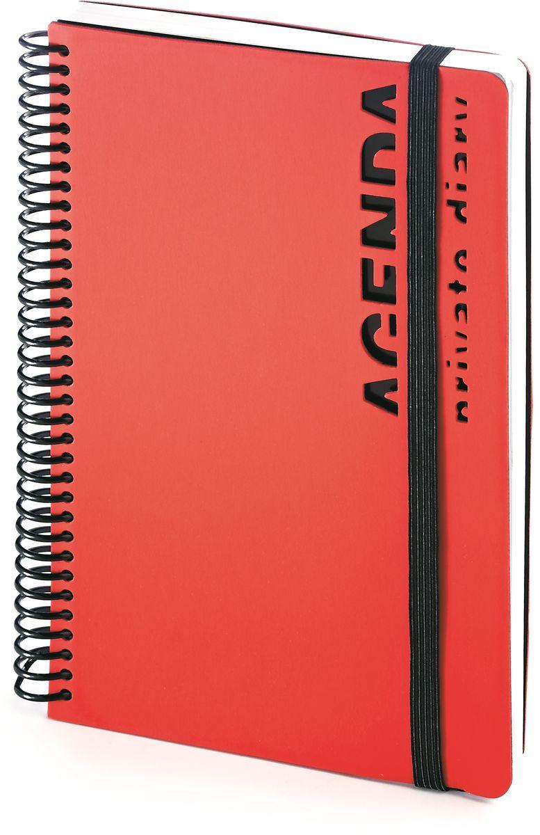 Bruno Visconti Ежедневник А5 AGENDA цвет красный