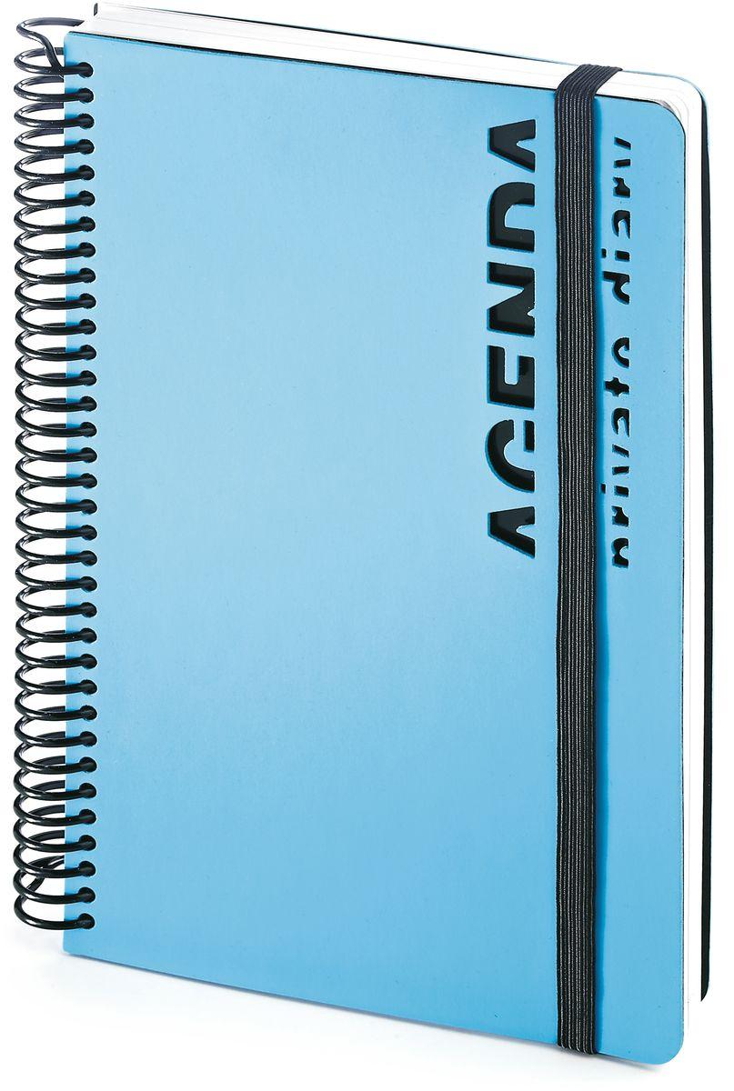 Bruno Visconti Ежедневник Agenda недатированный 136 листов цвет голубой формат А5