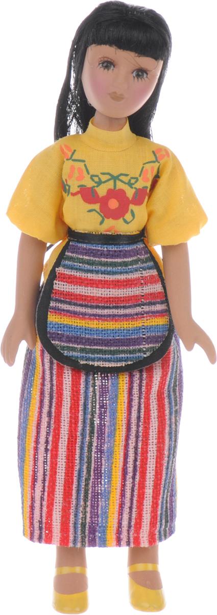 Журнал Куклы в костюмах народов мира №53ETD053Журнальная серия Куклы в народных костюмах от издательства ДеАгостини будет интересна всем людям, увлекающимся этнологией, национальными нарядами и коллекционированием кукол. К каждому выпуску данной серии прилагается очаровательная фарфоровая кукла ручной работы, одетая в народный костюм. Такие куклы без слов рассказывают об обычаях и культуре определенного края, завораживают своей неповторимой красотой и особым очарованием. К данному выпуску прилагается кукла ручной работы в костюме маленькой страны Гватемалы. Высота куклы - 18 см. Категория 16+.