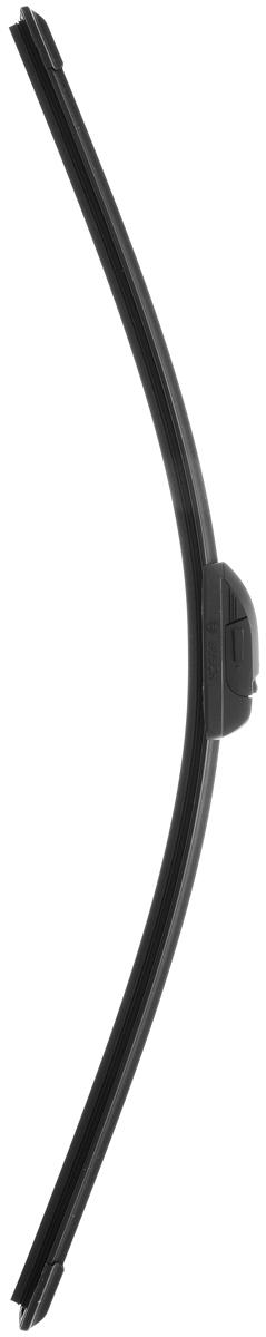 Щетка стеклоочистителя Bosch AR65N, бескаркасная, со спойлером, длина 65 см, 1 шт3397008844Бескаркасная щетка Bosch AR65N, выполненная по современной технологии из высококачественных материалов, отличается высоким качеством исполнения и оптимально подходит для замены оригинальных щеток, установленных на конвейере. Обеспечивает качественную очистку стекла в любую погоду. AEROTWIN - серия бескаркасных щеток компании Bosch. Щетки имеют встроенный аэродинамический спойлер, что делает их эффективными на высоких скоростях, и изготавливаются из многокомпонентной резины с применением натурального каучука.