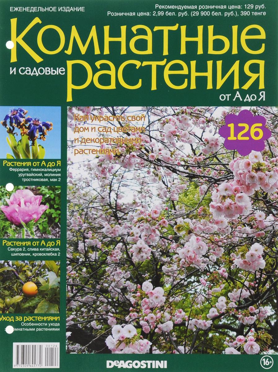 Журнал Комнатные и садовые растения. От А до Я №126VRD126Хотите сделать приятный и полезный подарок людям, увлекающимся цветоводством, или углубить собственные познания в этой сфере? Коллекция журналов Комнатные и садовые растения. От А до Я поможет вам в этом. Из журнала вы узнаете, как украсить свой дом и сад цветами и декоративными растениями. Категория 16+.