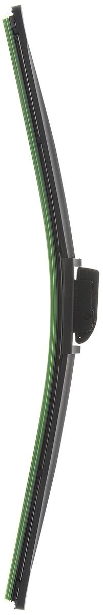 Щетка стеклоочистителя Wonderful, бескаркасная, с тефлоном, с 10 адаптерами, длина 45 см, 1 шт901922Бескаркасная универсальная щетка Wonderful, выполненная по современной технологии из высококачественных материалов, предназначена для установки на переднее стекло автомобиля. Направляющая шина, расположенная внутри чистящего полотна, равномерно распределяет прижимное усилие по всей длине, точно повторяя рельеф щетки, что обеспечивает наиболее полное очищение стекла за один проход. Отличается высоким качеством исполнения и оптимально подходит для замены оригинальных щеток, установленных на конвейере. Обеспечивает качественную очистку стекла в любую погоду. Изделие оснащено 10 адаптерами, которые превосходно подходят для наиболее распространенных типов креплений. Простой и быстрый монтаж.