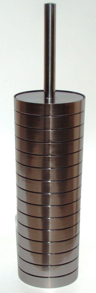 Ершик для унитаза Vanstore Grace, с подставкой, 2 предмета312-06Ершик для унитаза Vanstore Grace выполнен из пластика с жестким ворсом. Он хранится в специальной пластиковой подставке. Ерш отлично чистит поверхность, а грязь с него легко смывается водой. Стильный дизайн изделия притягивает взгляд и прекрасно подойдет к интерьеру туалетной комнаты. Изделия отлично сочетаются с другими аксессуарами из коллекции Grace.