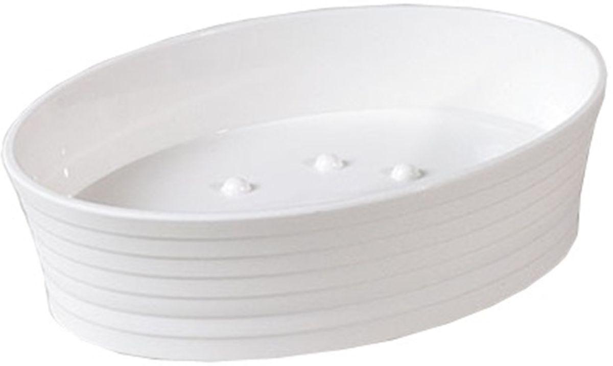 Мыльница Vanstore Style, 12,3 х 12,3 х 3,5 см313-04Оригинальная мыльница Vanstore Style, изготовленная из пластика, отлично подойдет для вашей ванной комнаты. Изделие отлично сочетается с другими аксессуарами из коллекции Style. Такая мыльница создаст особую атмосферу уюта и максимального комфорта в ванной.