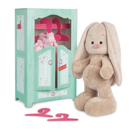 Мягкая игрушка Зайки Ми в шкафчике 25 см