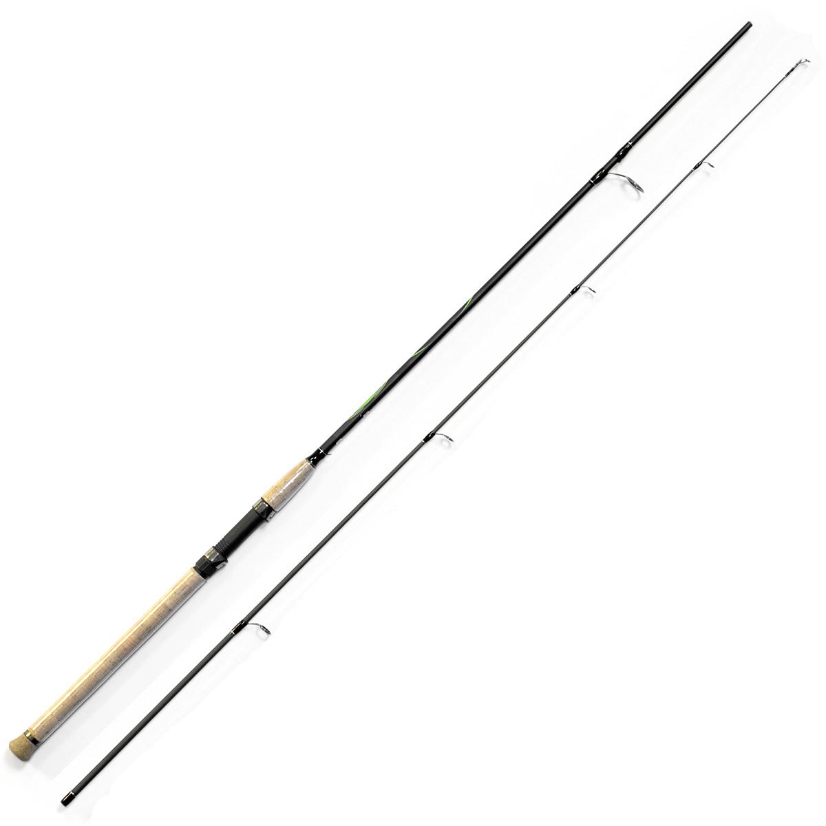 Спиннинг Salmo Sniper SPIN 20 2.40, длина 2,4м, 5-20г2134-240Универсальный спиннинг средне-быстрого строя для ловли на различные приманки, изготовленный из композита. Бланк спиннинга укомплектован облегченными кольцами, на высоких ножках со вставками SIC и элегантной рукояткой с пробковым покрытием и облегченным буфером на торце. Соединение колен спиннинга по типу OVER STEEK. Все спиннинги имеют один тест: 5–20 г. - Материал бланка удилища - композит - Строй бланка средне-быстрый - Класс спиннинга ML - Конструкция штекерная - Соединение колен типа OVER STEEK - Кольца пропускные: – облегченные большое – со вставками SIC – с расстановкой по классической концепции - Рукоятка: – пробковая - Катушкодержатель: – винтового типа - Проволочная петля для закрепления приманок