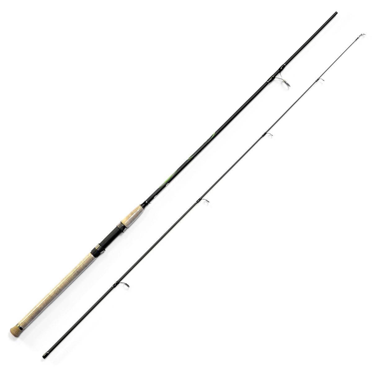Спиннинг Salmo Sniper SPIN 30 2.70, длина 2,7м, 10-30г2135-270Универсальный спиннинг средне-быстрого строя для ловли на различные приманки, изготовленный из композита. Бланк спиннинга укомплектован облегченными кольцами на высоких ножках со вставками SIC и элегантной рукояткой с пробковым покрытием и облегченным буфером на торце. Соединение колен спиннинга по типу OVER STEEK. Все спиннинги имеют одинаковый тест 10-30 г. - Материал бланка удилища – композит - Строй бланка средне-быстрый - Класс спиннинга M - Конструкция штекерная - Соединение колен типа OVER STEEK - Кольца пропускные: – облегченные большие – со вставками SIC – с расстановкой по классической концепции - Рукоятка: – пробковая - Катушкодержатель: – винтового типа - Проволочная петля для закрепления приманок