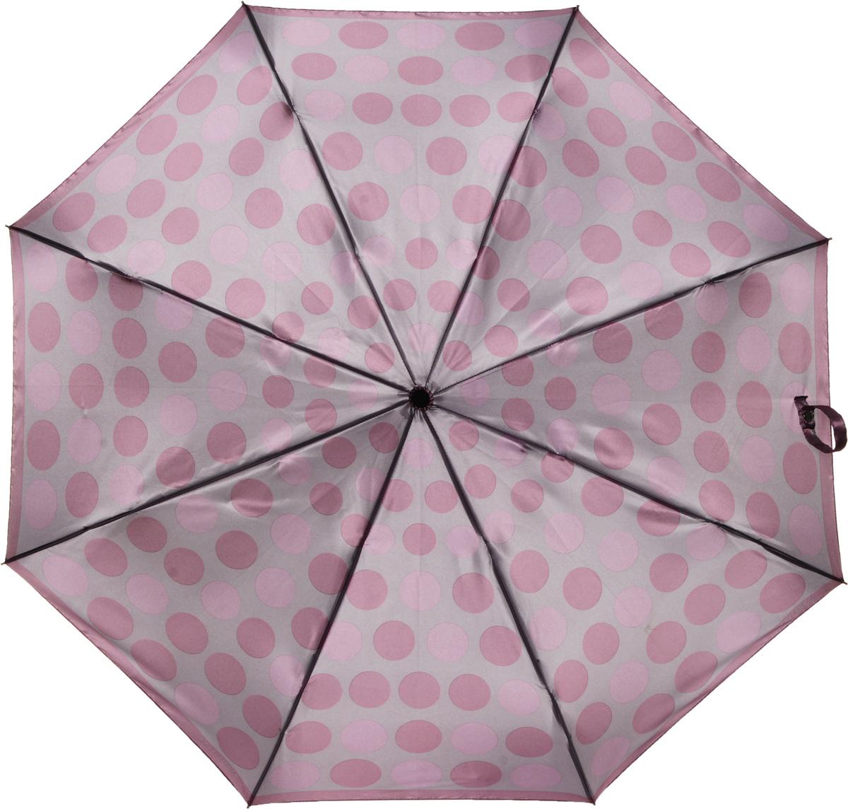 Зонт женский Eleganzza, автомат, 3 сложения, цвет: бежевый. A3-05-0277LSA3-05-0277LSЖенский зонт-автомат торговой марки ELEGANZZA с каркасом Smart, который позволяет без особых усилий складывать зонт, не позволяя стержню вылетать обратно. Купол: 100% полиэстер, сатин. Материал каркаса: сталь + алюминий + фибергласс. Материал ручки: пластик. Длина изделия - 30 см. Диаметр купола - 105 см. Система Smart, не позволяет стержню при сложении вылететь обратно, это облегчает сложение зонта! При сложении есть характерный звук-треск, как трещетка. Примечание: зонт не откроется с кнопки если его не закрыть до щелчка!