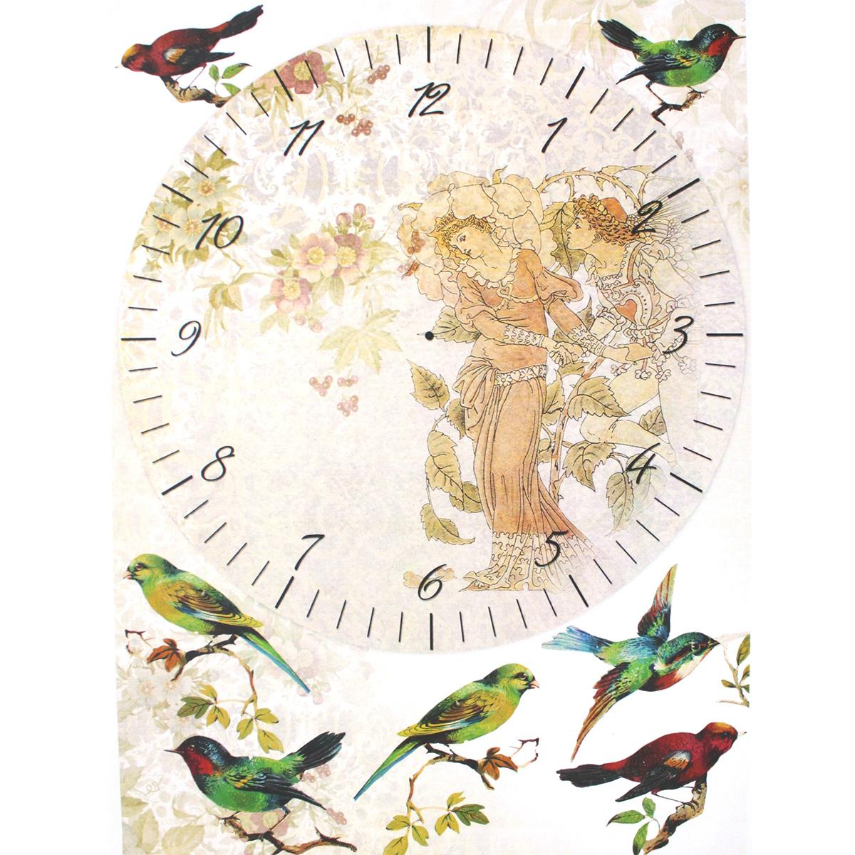 Декупажная карта Freedecor Циферблат с птицами, А4, 70 гр./м.кв. Dk 3090685686_3090циферблатсптицамиДекупажная карта - оригинальная специальная бумага с нанесенным рисунком для использования в технике декупажа. Интересные мотивы, изображенные на бумаге, сделают процесс рукоделия занятным.