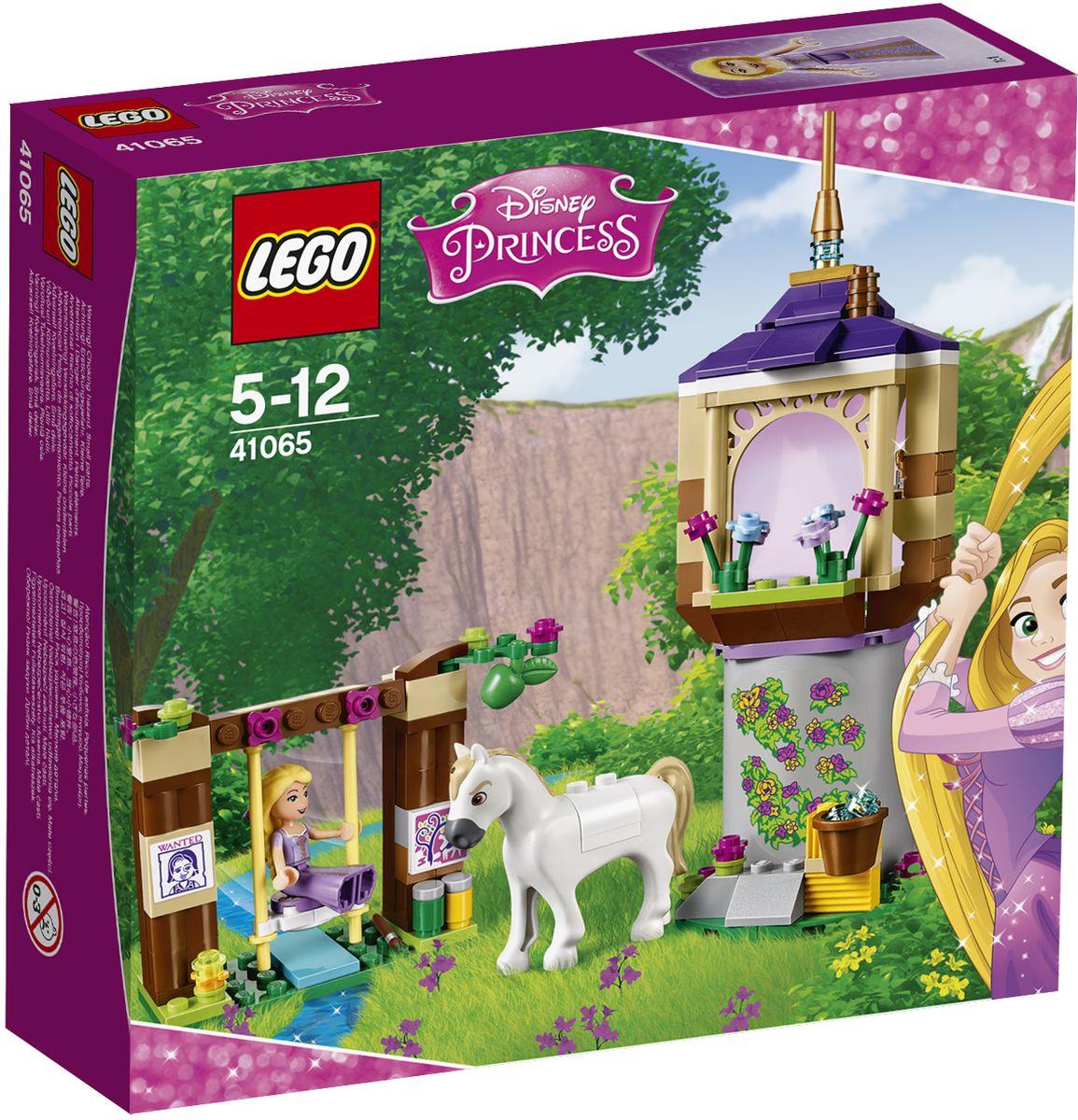 LEGO Disney Princesses Конструктор Лучший день Рапунцель 4106541065Отправляйтесь путешествовать с Рапунцель и ее другом, конем Максимусом. Пусть этот день станет особенным! Она впервые сможет покачаться на качелях, болтая ногами в воде, и коснуться волшебного цветка, который поможет ей восстановить магические силы. Возьмите кисть и нарисуйте прекрасную картину, а потом подберите упавшее с дерева яблоко для Максимуса. Еще здесь есть сено и вода, чтобы Максимусу было чем заняться, пока его хозяйка готовит обед на кухне башни. Какой необыкновенный день! Конструктор LEGO Disney Princesses. Лучший день Рапунцель включает в себя 145 разноцветных пластиковых элементов. Конструктор - это один из самых увлекательных и веселых способов времяпрепровождения. Ребенок сможет часами играть с конструктором, придумывая различные ситуации и истории.