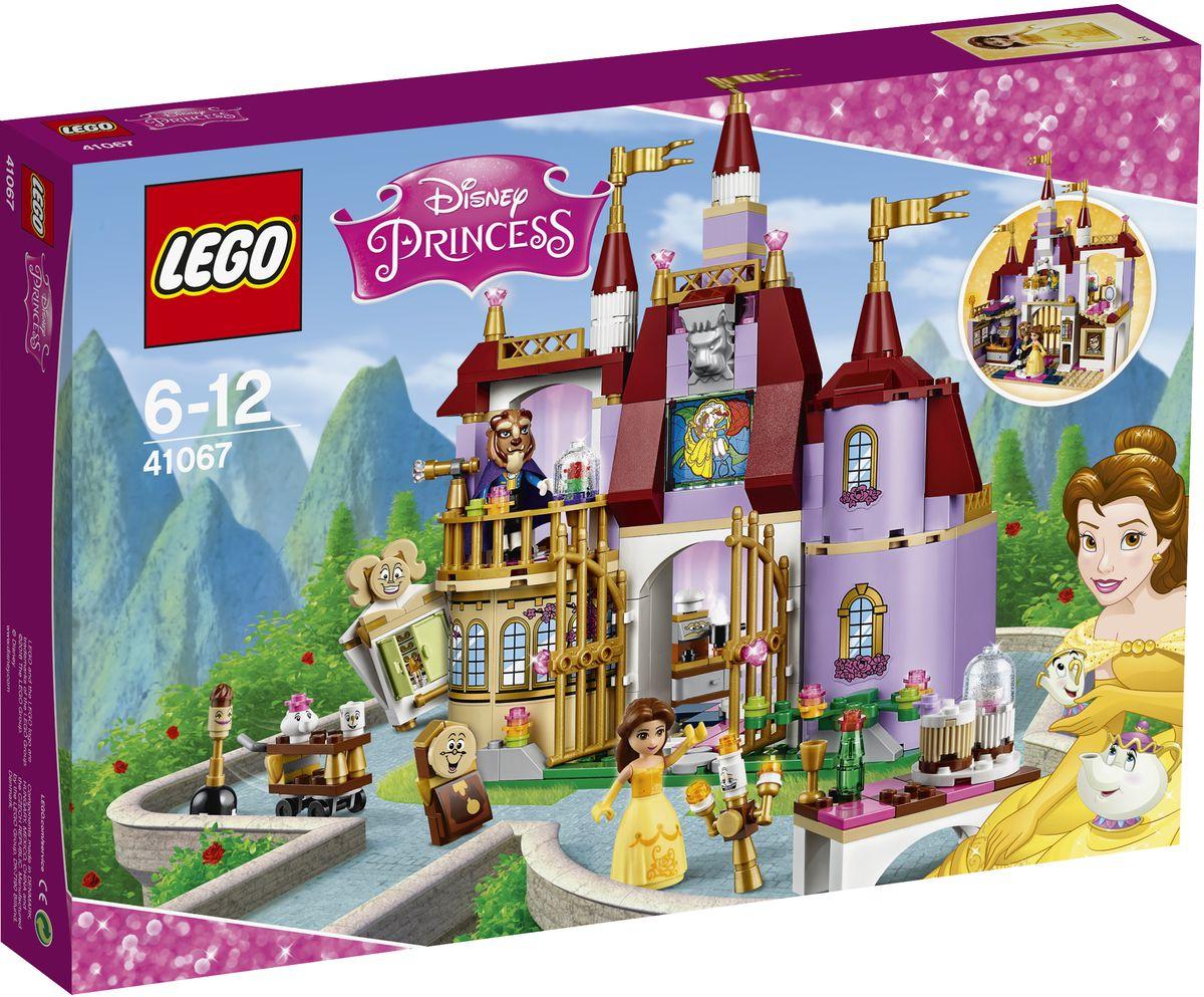LEGO Disney Princesses Конструктор Заколдованный замок Белль 4106741067Вместе с Белль и ее волшебными друзьями исследуйте все потайные уголки замка, найдите особую книгу в библиотеке или поднимитесь в комнату с балконом, чтобы увидеть заколдованный цветок. Помогите Когсворту и Люмьеру организовать музыкальный банкет для Чудовища и вкатите в столовую Миссис Поттс и Чипа на столике на колесиках, чтобы разлить чай. И всю ночь напролет танцуйте в бальном зале с огромной люстрой, чтобы Красавица влюбилась в Чудовище и разрушила магическое заклятие. Конструктор LEGO Disney Princesses. Заколдованный замок Белль включает в себя 374 разноцветных пластиковых элемента. Конструктор - это один из самых увлекательных и веселых способов времяпрепровождения. Ребенок сможет часами играть с конструктором, придумывая различные ситуации и истории.