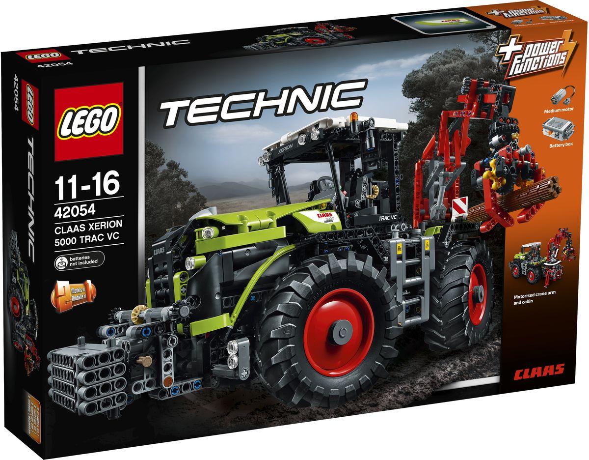 LEGO Technic Конструктор Claas Xerion 5000 Trac VC 4205442054Испытайте новейшую сельскохозяйственную технику с этой копией мощного трактора Claas Xerion 2 в 1 от LEGO Technic. Эта тщательно детализированная модель поставляется в фирменной цветовой гамме и оснащается комплексом аутентичных возможностей и функций. Включите прилагаемый мотор Power Functions и сможете поднять кабину и повернуть ее на 180°, управлять универсальным краном или выдвинуть выносные опоры. Передние колеса машины и одновременное управление четырьмя колесами обеспечивают максимальную маневренность огромных шин трактора, а также предоставляют оптимальное сцепление для огромного тягового усилия на всех типах местности. Перестройте кран трактора, чтобы создать Claas Xerion 5000 Trac VC с плугом для силоса! Набор включает в себя 1977 разноцветных пластиковых элементов. Конструктор - это один из самых увлекательных и веселых способов времяпрепровождения. Ребенок сможет часами играть с конструктором, придумывая различные ситуации и истории. Необходимо купить...