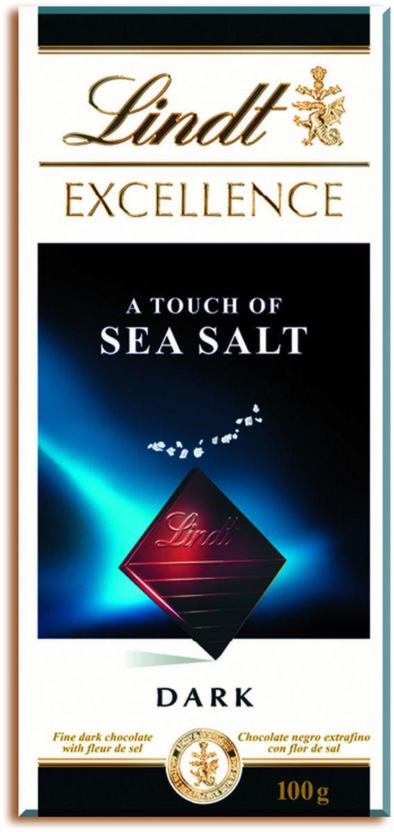 Lindt Excellenceс темный шоколад с морской солью, 100 г ( 3046920029674 )