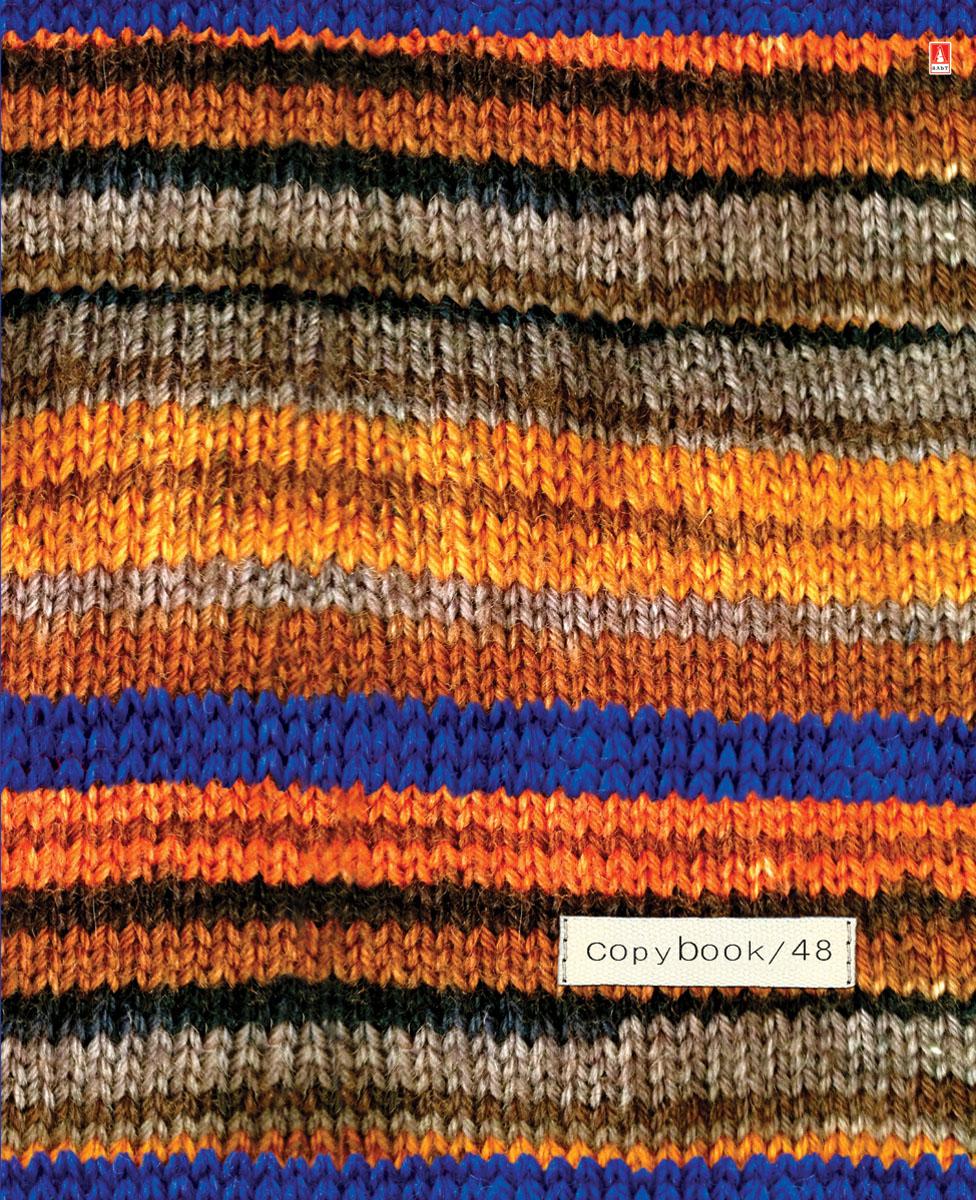 Альт Тетрадь Модный свитер 48 листов в клетку Вид 4