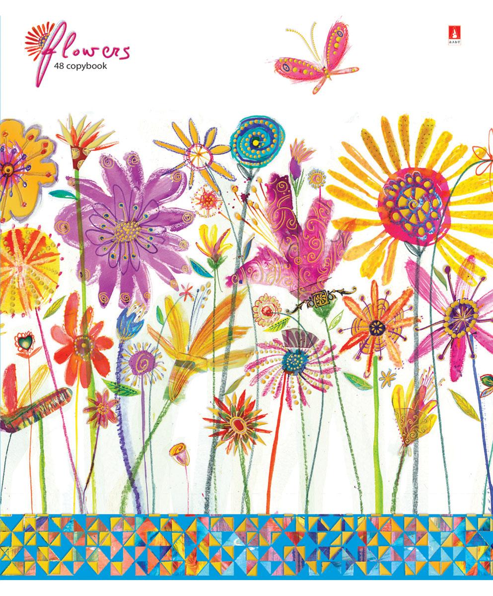 Альт Тетрадь Цветы Счастье 48 листов в клетку Вид 17-48-115Тетрадь Альт Цветы. Счастье идеально подойдет для большинства школьных предметов. Благодаря скругленным краям исключаются заломы уголков. Оригинальность дизайну придает полиграфическая отделка. Форзацы тетради с полноцветной печатью продолжают общее оформление данной серии. В выделенном поле можно написать имя и фамилию ученика. Внутренний блок тетради состоит из 48 листов высококачественной белой бумаги, соединенных двумя металлическими скрепками. Линовка в клетку сопровождается красными полями.