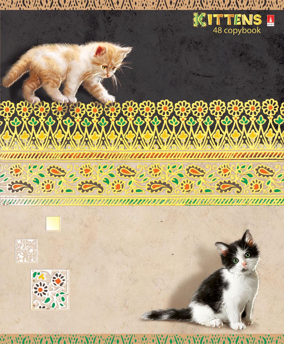 Альт Тетрадь Кошки-мышки 48 листов в клетку вид 17-48-624Тетрадь Альт Кошки-мышки отлично подойдет для занятий школьнику, студенту или для различных записей. Обложка тетради с закругленными уголками выполнена из качественного экологически чистого картона и покрыта гибридным лаком. Лицевая сторона оформлена изображением красивых котят. Внутренний блок тетради, соединенный двумя металлическими скрепками, состоит из 48 листов первосортной бумаги белого цвета формата А5. Четкая линовка точно совпадает с обеих сторон каждого листа. Поля отмечены красным цветом. Вне зависимости от породы очарование и трогательность этих малышей не оставят равнодушными взрослых и детей.