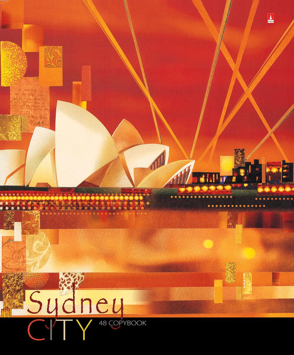 Альт Тетрадь Sydney 48 листов в клетку7-48-865Тетрадь Альт Sydney выпускается в стильной обложке формата А5. Обложка тетради выполнена из плотного картона и оформлена рисунком в стиле большого города Сиднея. Благодаря отделке гибридным лаком обложка приобретает необычный эффект матового пластика. На цветном форзаце обложки есть импровизированная карта мира с полем для данных ученика. Внутренний блок тетради, соединенный двумя металлическими скрепками, состоит из 48 листов белой бумаги. Четкая линовка точно совпадает с обеих сторон каждого листа. Поля отмечены красным цветом.